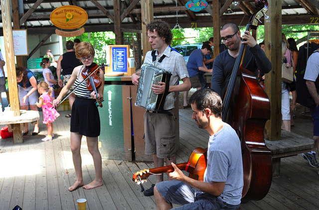 Ithaca market music